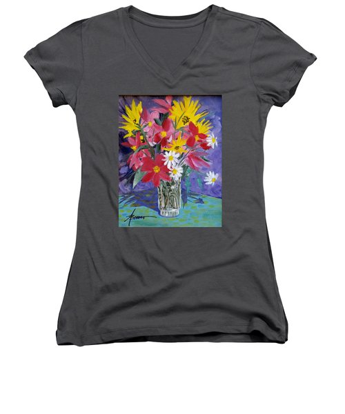 Fall Collection  Women's V-Neck (Athletic Fit)