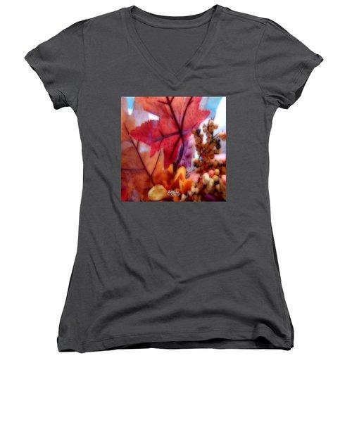 Fall Colors # 6059 Women's V-Neck