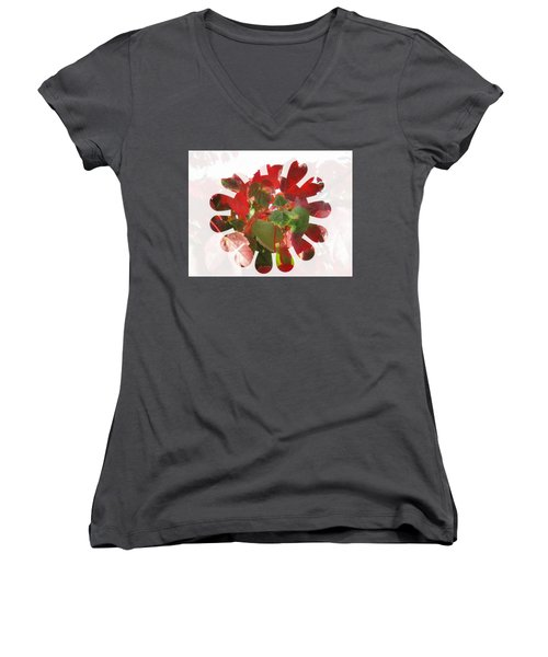 Fall Leaves #9 Women's V-Neck
