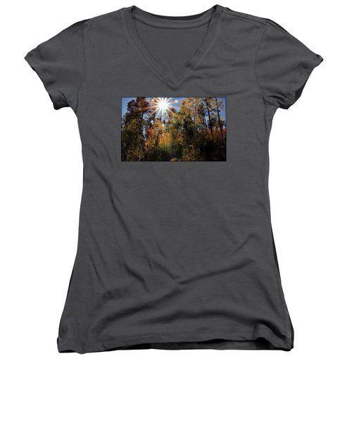 Fall Mt. Lemmon 2017 Women's V-Neck