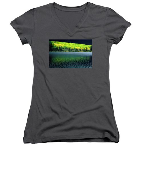 Fall Out Women's V-Neck
