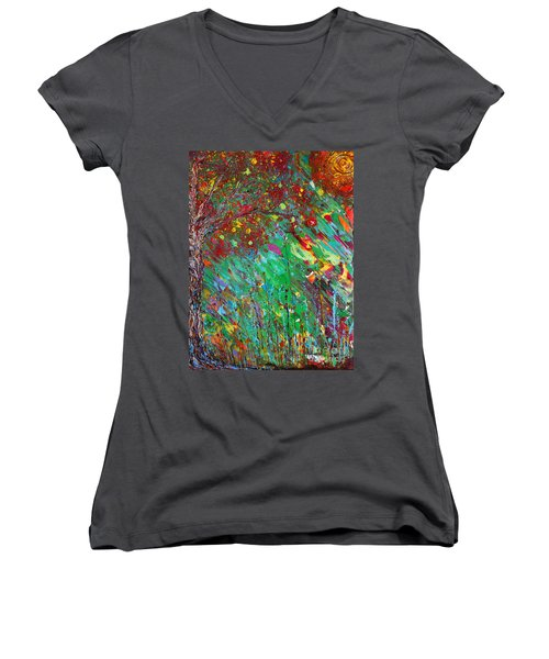 Fall Revival Women's V-Neck T-Shirt