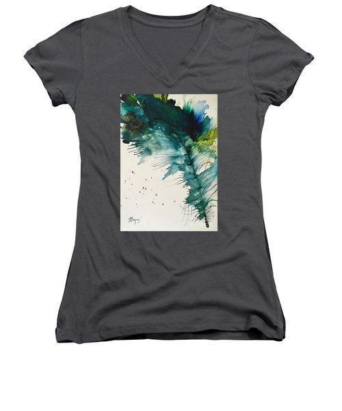 Fancy Feather Women's V-Neck T-Shirt