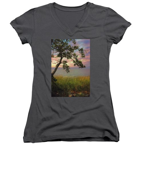 Farewell To Another Day Women's V-Neck
