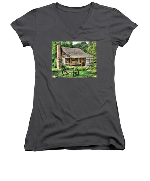 Farm House Women's V-Neck (Athletic Fit)