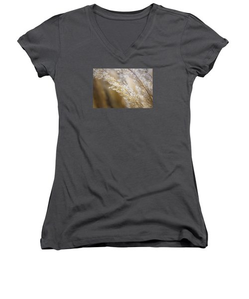 Feathered Women's V-Neck
