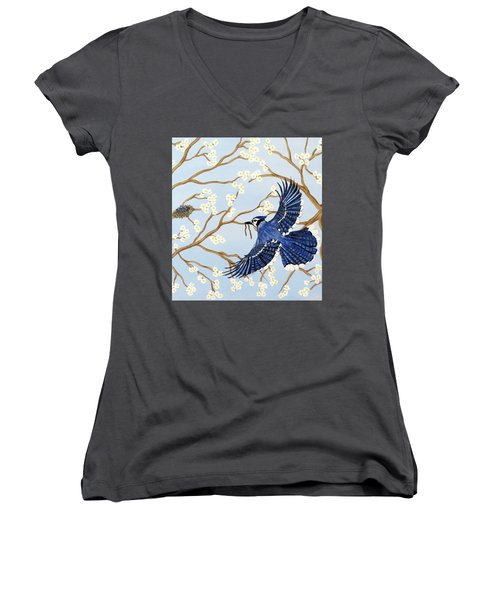 Feeding Time Women's V-Neck