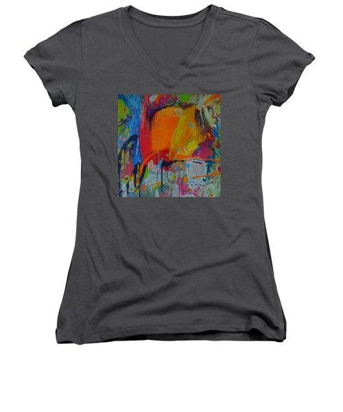 Feeling Melancholy Women's V-Neck T-Shirt