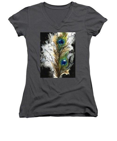 Female Women's V-Neck T-Shirt