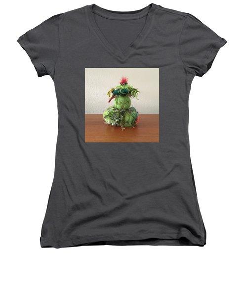 Femme Women's V-Neck T-Shirt