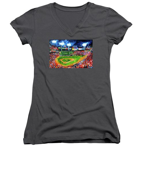 Fenway Park Women's V-Neck