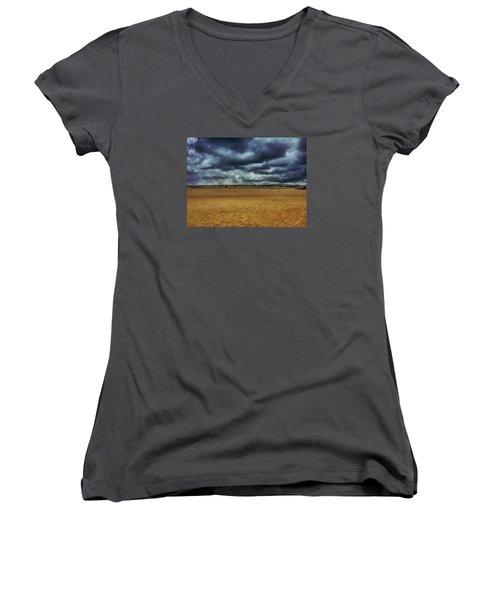 Fenwick Dunes Women's V-Neck T-Shirt