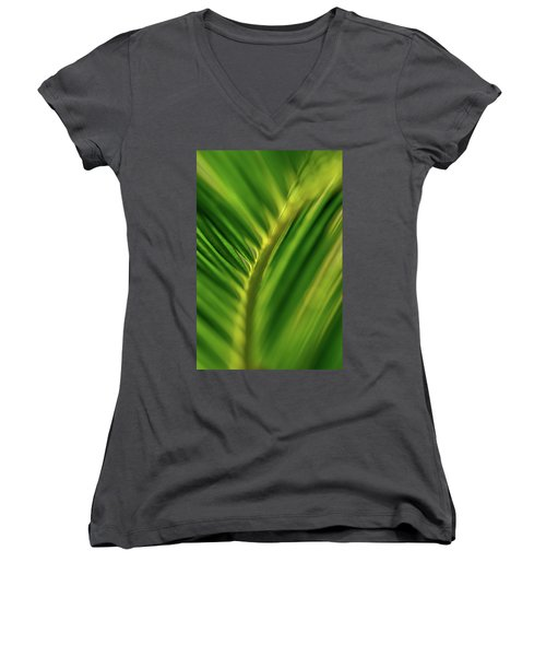 Fern Women's V-Neck T-Shirt