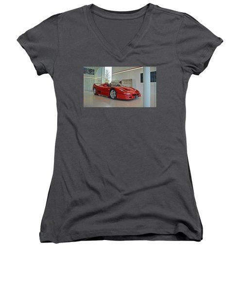 Ferrari F50 Women's V-Neck
