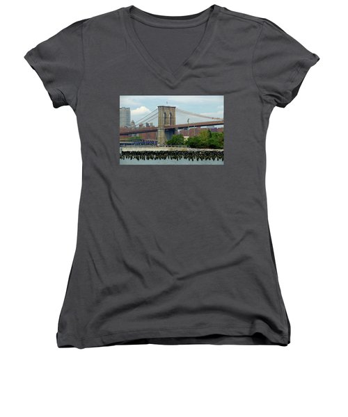 Ferry Hopping Women's V-Neck (Athletic Fit)