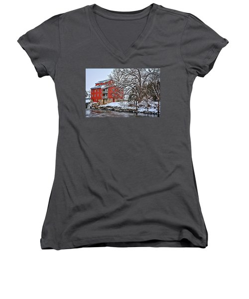 Fertile Winter Women's V-Neck T-Shirt