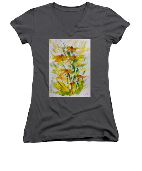 Field Bouquet Women's V-Neck T-Shirt