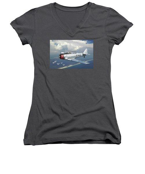 Fifinella Women's V-Neck T-Shirt