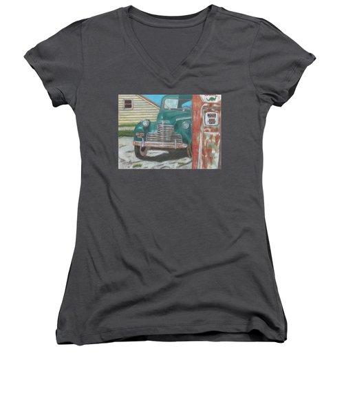 Fill 'er Up Women's V-Neck T-Shirt