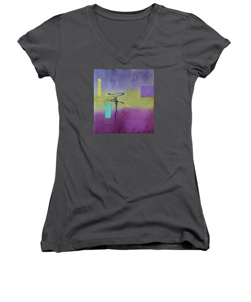 Finding Balance Women's V-Neck T-Shirt