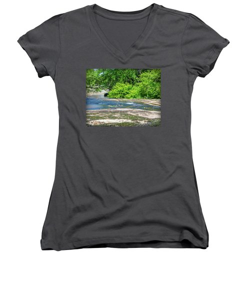 Fine Creek No. 3 Women's V-Neck (Athletic Fit)