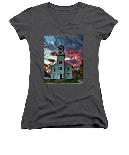 Fire And Brimstone Women's V-Neck