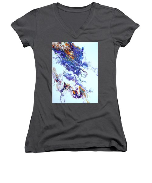 Fire Ball Women's V-Neck