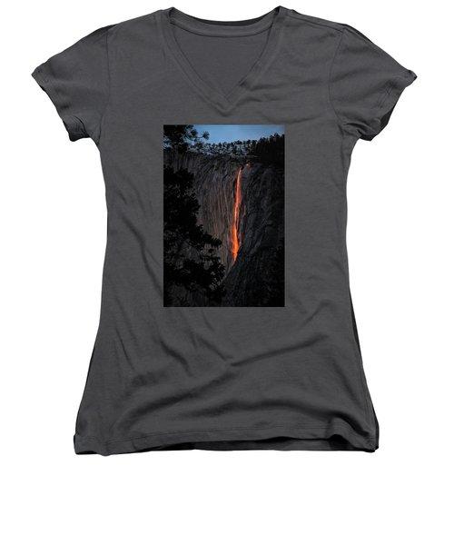 Fire Fall Women's V-Neck