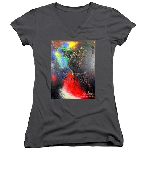 Fire Of Passion Women's V-Neck