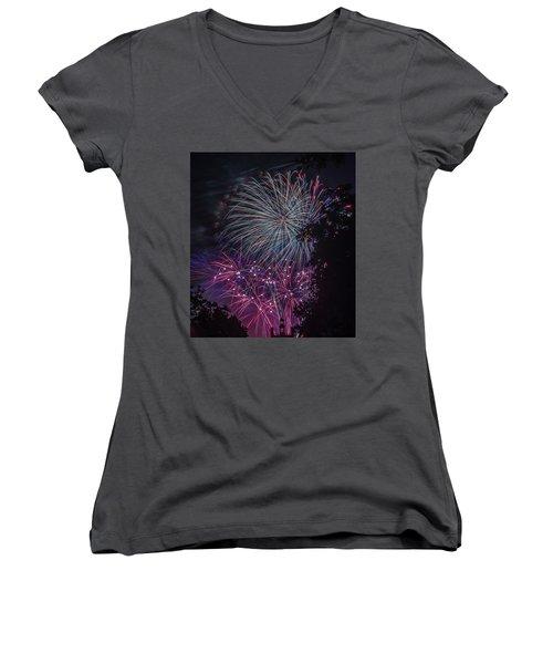 Fireworks 4 Women's V-Neck