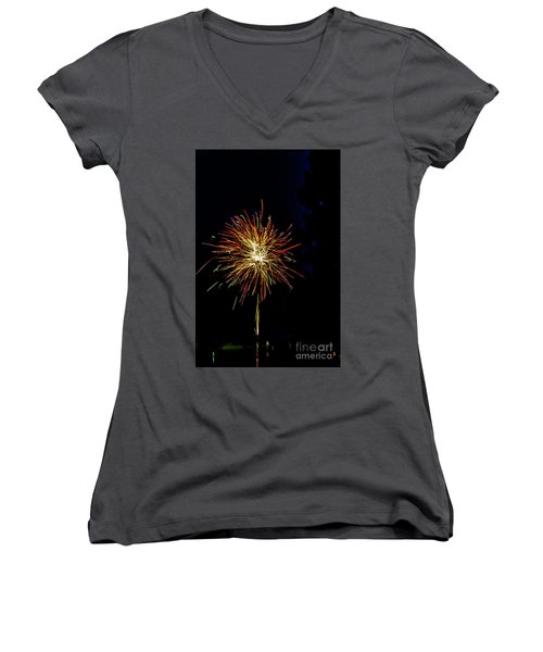 Fireworks Women's V-Neck T-Shirt