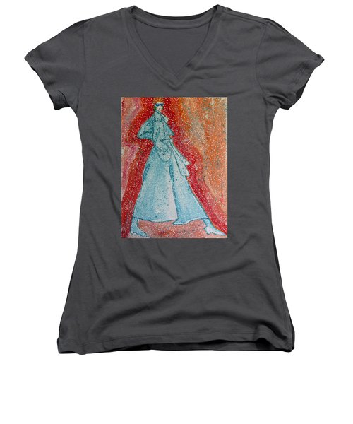 First Snow  Women's V-Neck