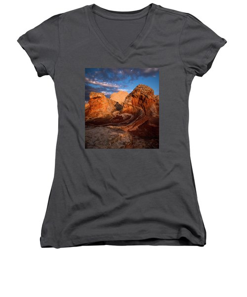 First Touch Women's V-Neck