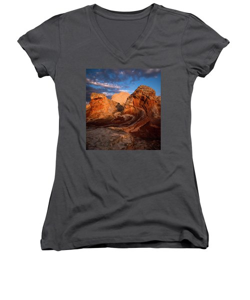 First Touch Women's V-Neck T-Shirt