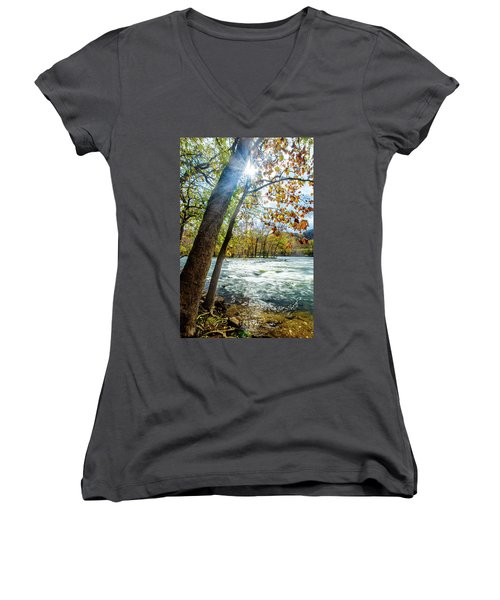 Fisherman's Paradise Women's V-Neck (Athletic Fit)