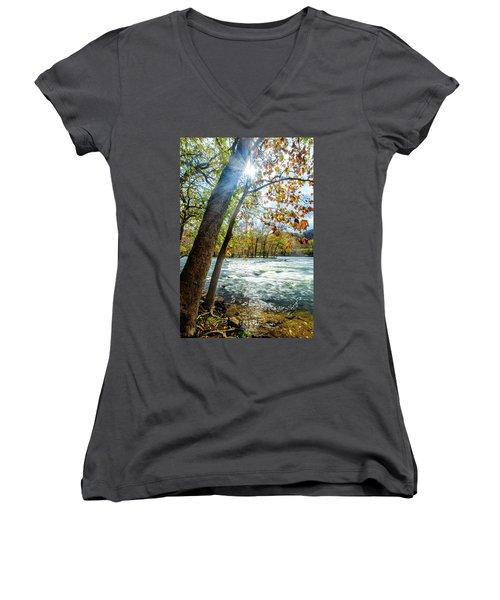 Fisherman's Paradise Women's V-Neck T-Shirt