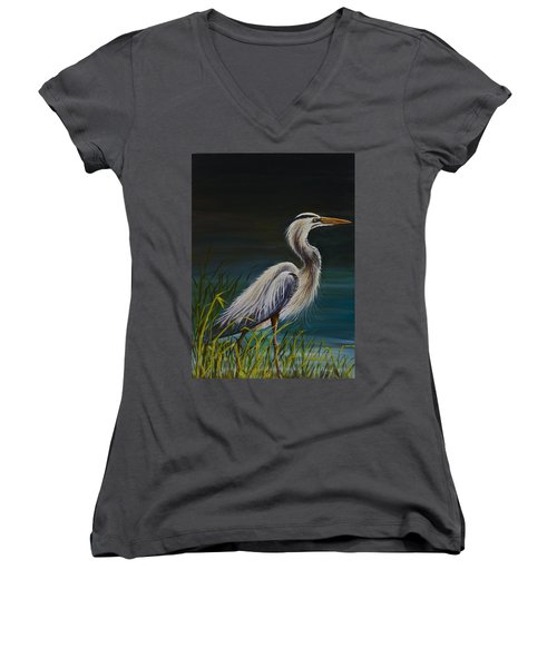 Fishing  Women's V-Neck (Athletic Fit)