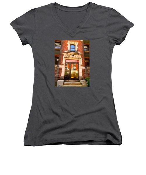 Five Fourteen Women's V-Neck T-Shirt (Junior Cut) by KD Johnson