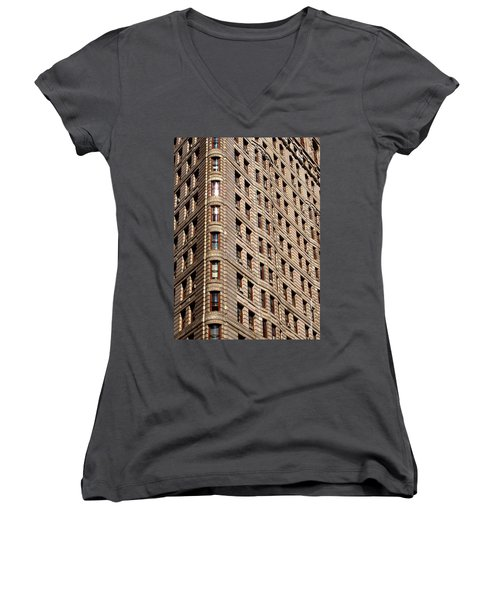 Flat Iron Women's V-Neck (Athletic Fit)