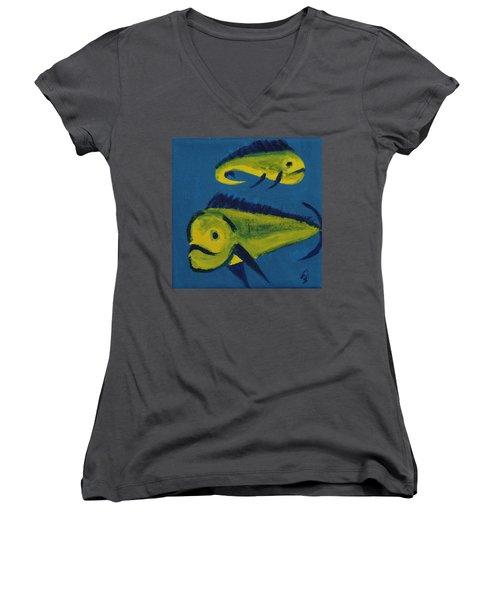 Florida Fish Women's V-Neck