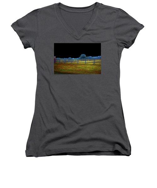 Florida Ranchland Women's V-Neck T-Shirt