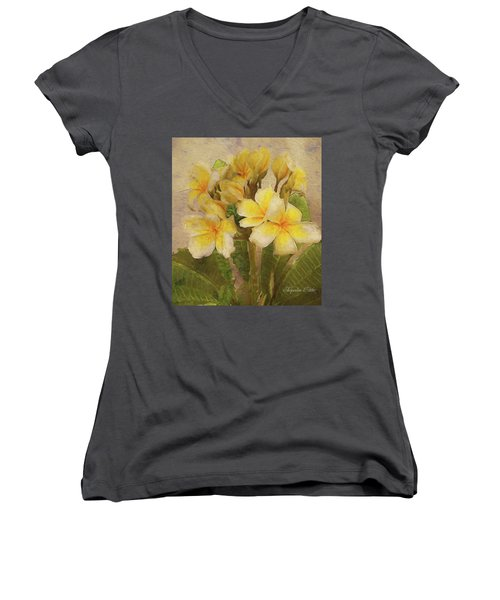 Floridian Bouquet Women's V-Neck