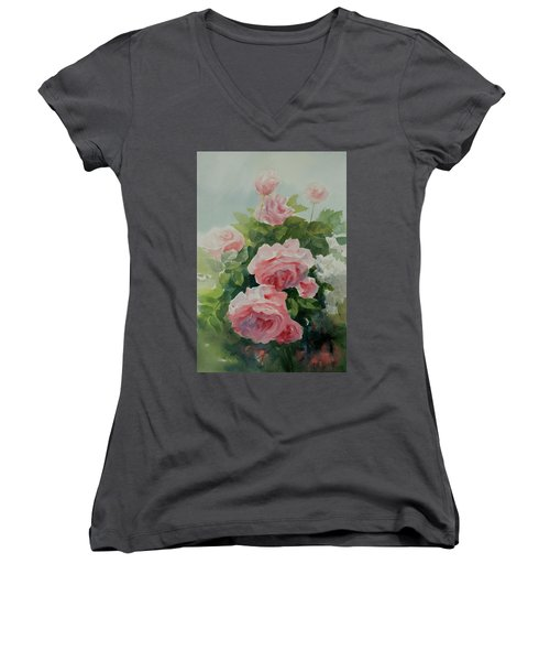 Flower 11 Women's V-Neck T-Shirt