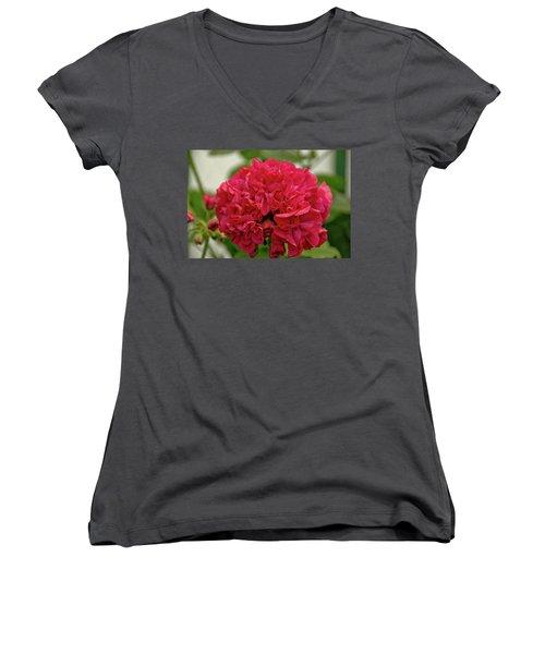 Flower 3 Women's V-Neck