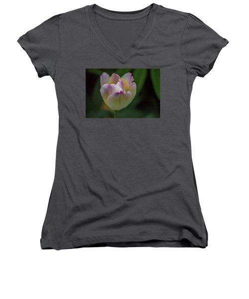 Flower 654853 Women's V-Neck (Athletic Fit)