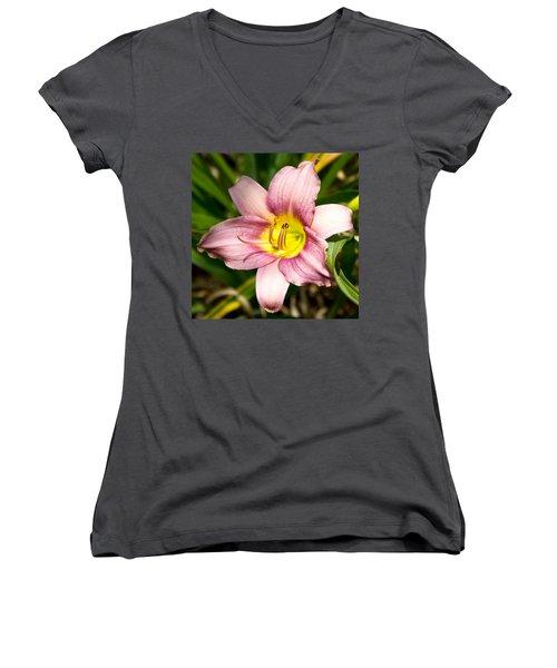 Flower Women's V-Neck