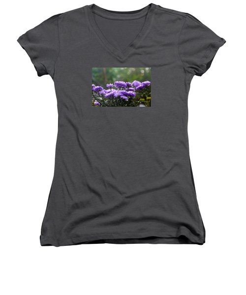 Flowers Edition Women's V-Neck (Athletic Fit)