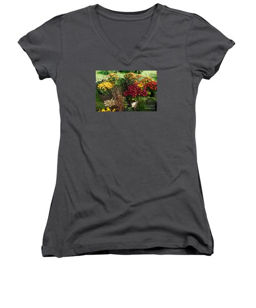 Flowers For Sale Women's V-Neck T-Shirt