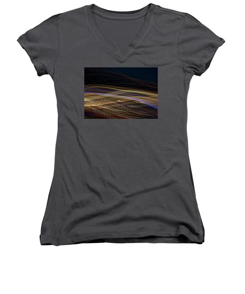 Flowing Women's V-Neck