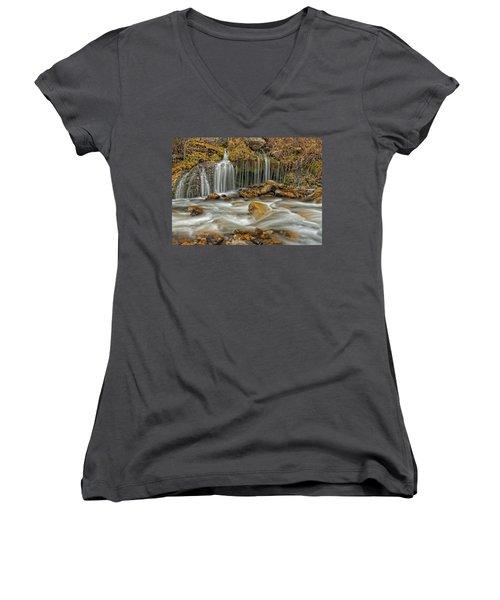 Flowing Water Women's V-Neck